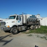 image of Used Mobile Concrete 10 Yard Global Mixer